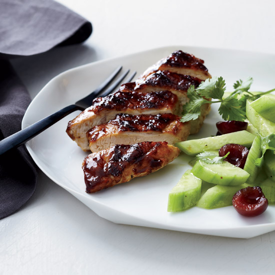Twice-Glazed Asian Barbecued Chicken