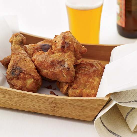 Beer-Battered Fried Buttermilk Chicken