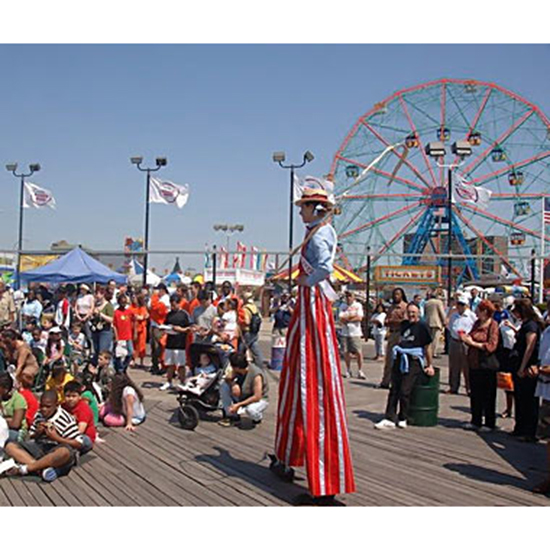 America's Best Boardwalks: Coney Island Beach & Boardwalk; Brooklyn, NY