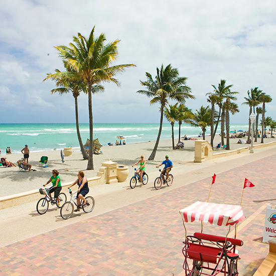 America's Best Boardwalks: Hollywood Beach Broadwalk; Hollywood, FL