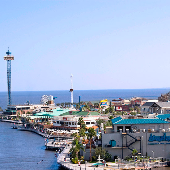 America's Best Boardwalks: Kemah Boardwalk; Kemah, TX