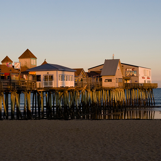 America's Best Boardwalks: Old Orchard Beach Pier; Old Orchard Beach, ME