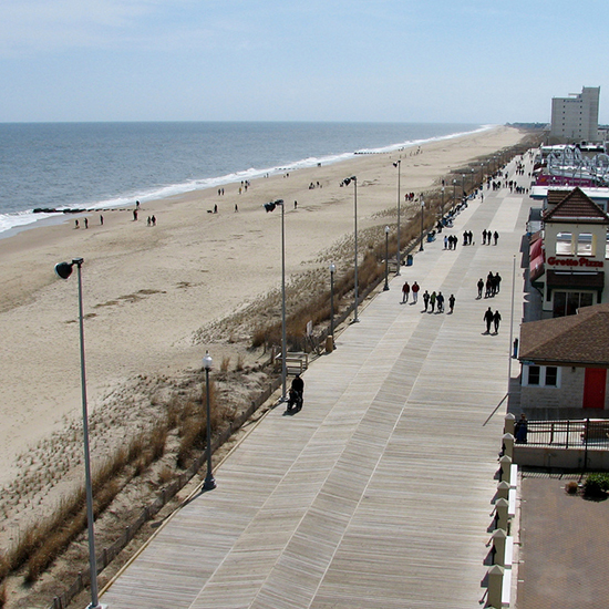 America's Best Boardwalks: Rehoboth Beach Boardwalk; Rehoboth Beach, DE
