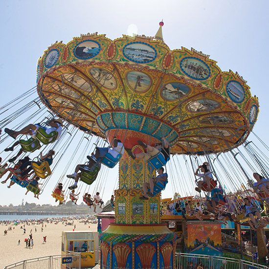 America's Best Boardwalks: Santa Cruz Beach Boardwalk; Santa Cruz, CA