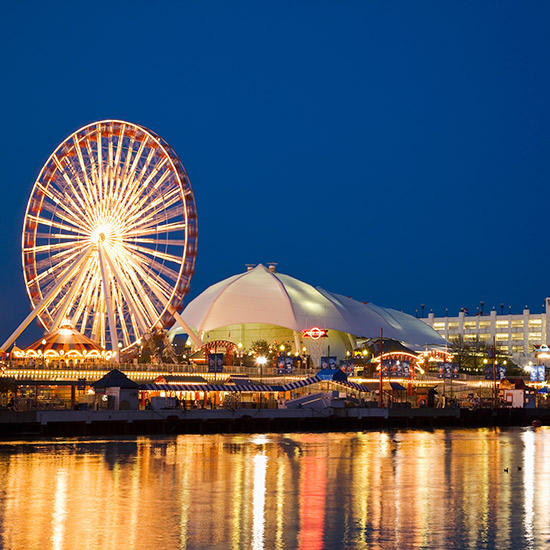 America's Best Boardwalks: Navy Pier; Chicago