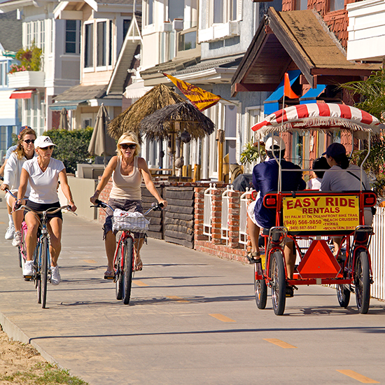 America's Best Boardwalks: The Boardwalk Shops at Newport Pier; Newport Beach, CA