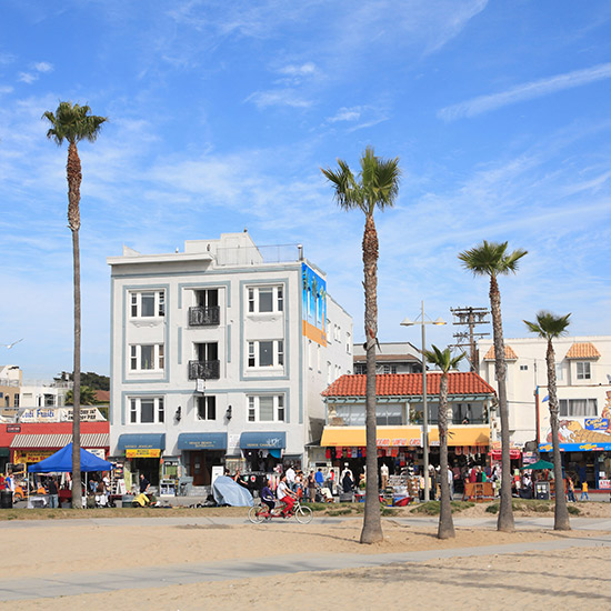 America's Best Boardwalks: Ocean Front Walk; Venice Beach, CA