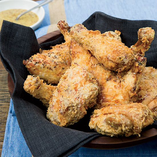 Fried Chicken with Honey Mustard