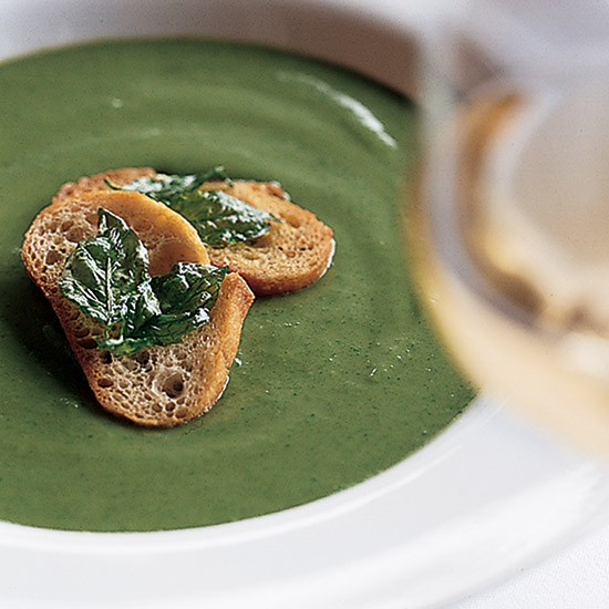 Zucchini Soup with Basil