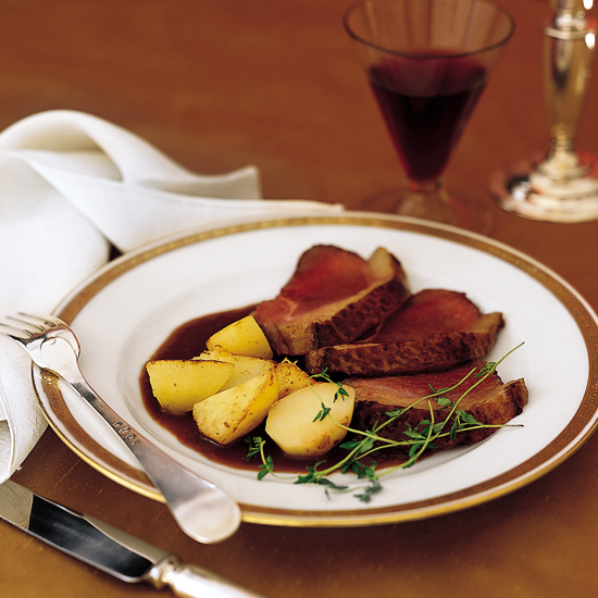 Duck Breasts In Muscat and Orange Juice