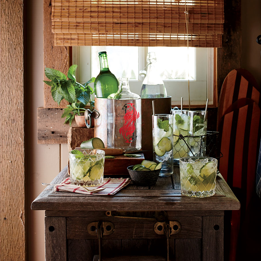 Gin-and-Honey Spritzer