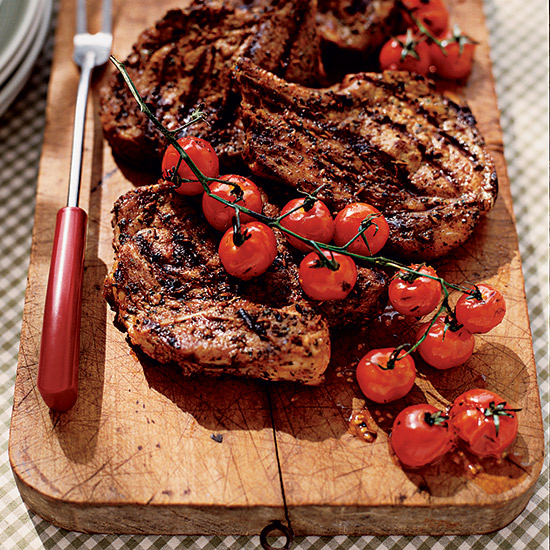 Shewchuk's Spice-Crusted Pork-Blade Steaks
