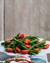Green Bean-Tomato Salad with Herbs