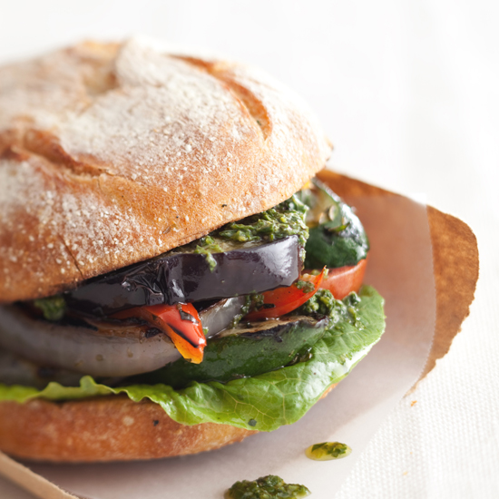 Grilled-Vegetable Sandwich