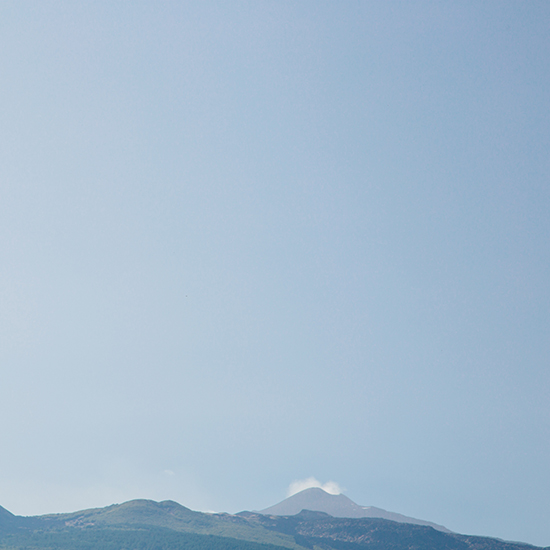 A view of Mt. Etna