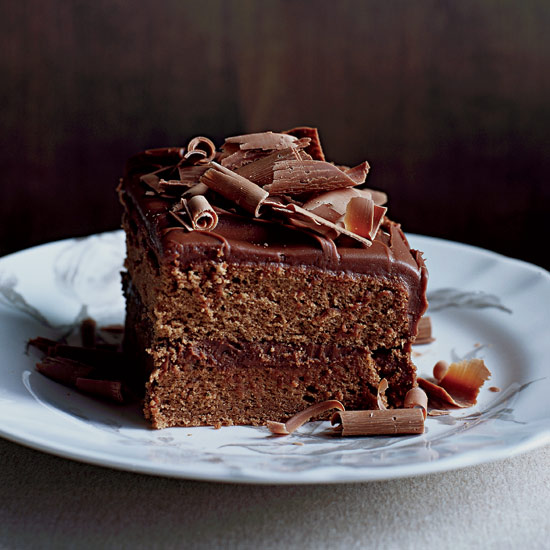 Milk Chocolate Frosted Layer Cake