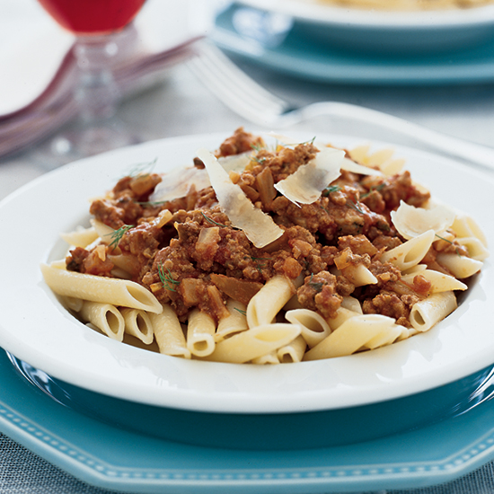 Penne with Veal Ragù