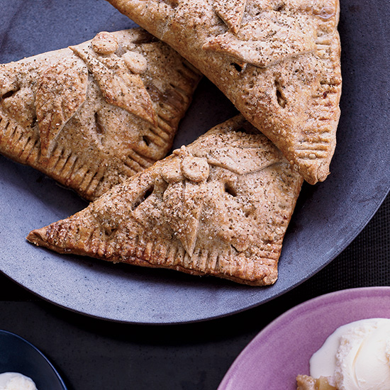 Apple Rye Turnovers with Celery Seeds