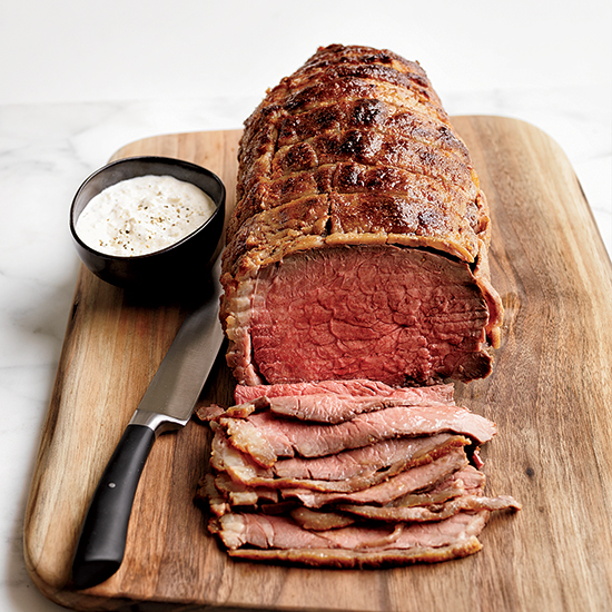 Stupid-Simple Roast Beef with Horseradish Cream
