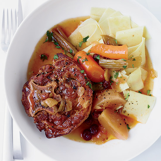 Braised Lamb Neck with Turnip