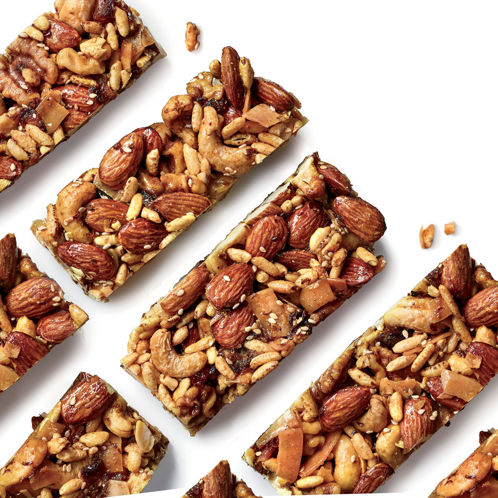 Curry-Spiced Nut Bars