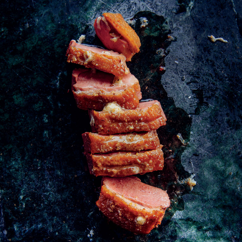 Duck Breasts with Toasted Spice Butter