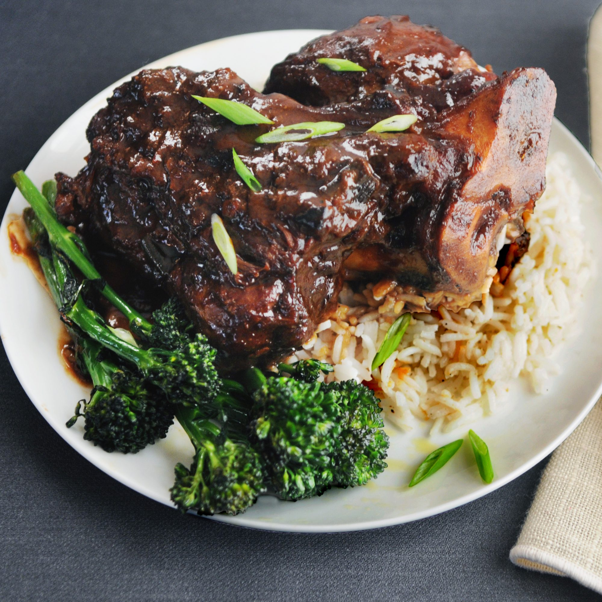Braised Pork Shank with Miso