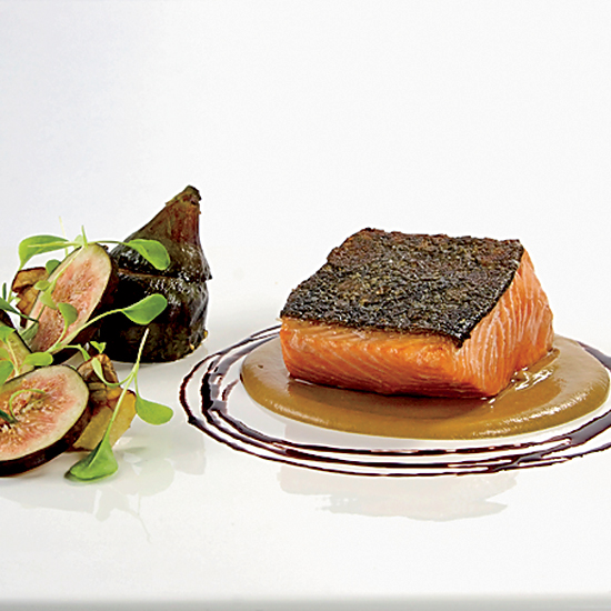 Roasted Salmon: Chef Way