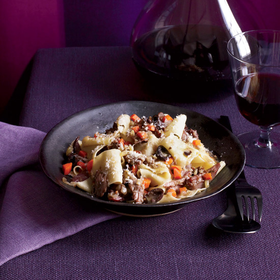 Pappardelle with Duck Ragù. Photo © Con Poulos