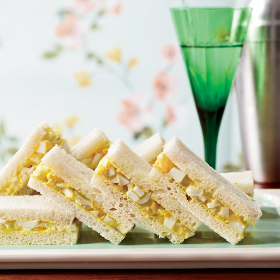 Curried-Egg Tea Sandwiches