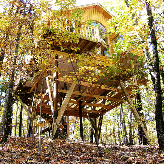 The Original Treehouse Cottages, Arkansas
