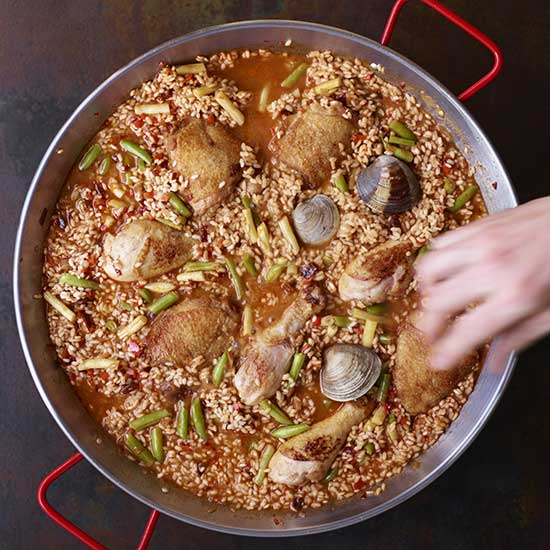 How to Make Paella: Cook