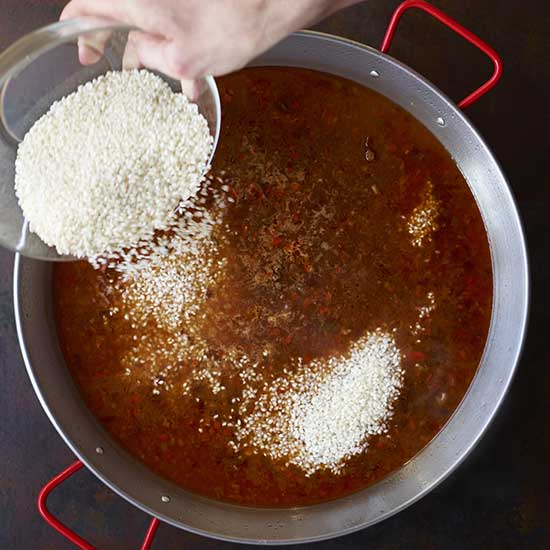 How to Make Paella: Sprinkle