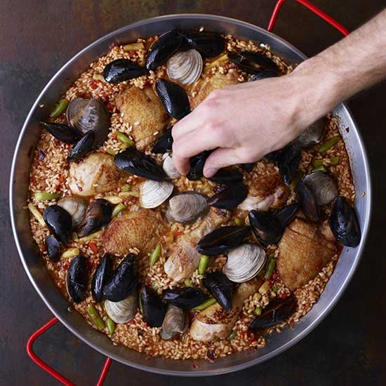 How to Make Paella: Scatter