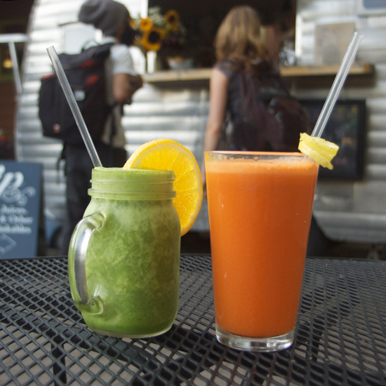 Juice Bars: Sip