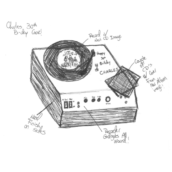 Celebrity Cakes: Record Player