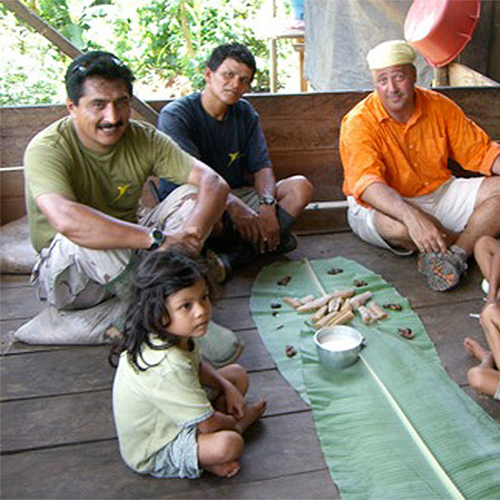 Andrew Zimmern's Family Meals: Ecuador