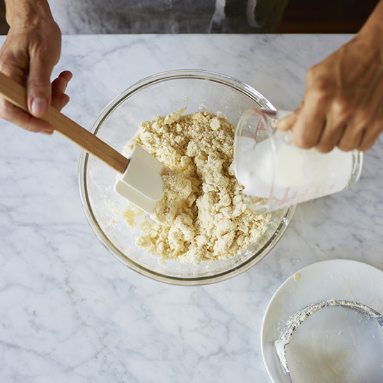 How to Make Pie Crust: Add Liquid