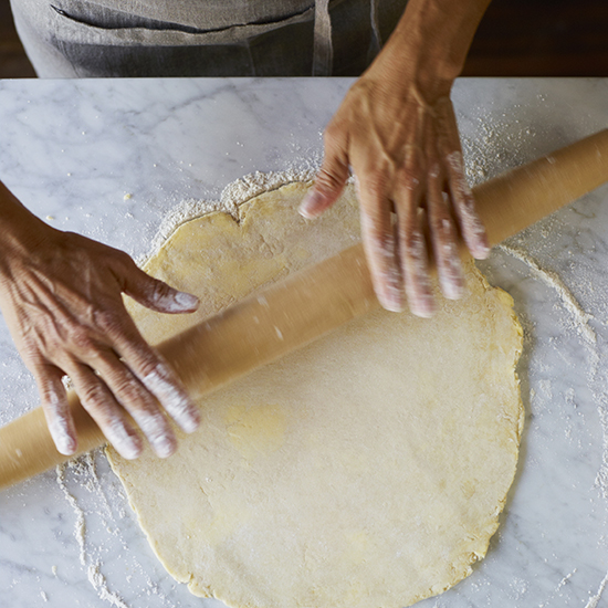 How to Make Pie Crust: Form Round