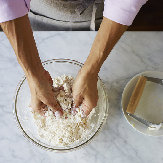 How to Make Pie Crust: Rub Butter