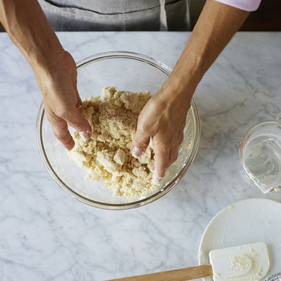 How to Make Pie Crust: Toss Together