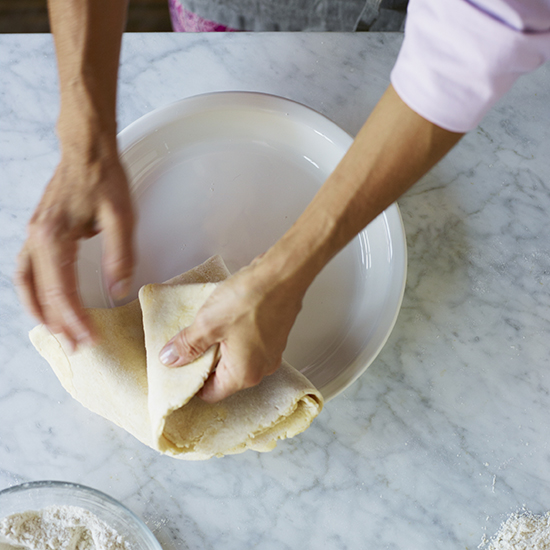 How to Make Pie Crust: Carefully Transfer