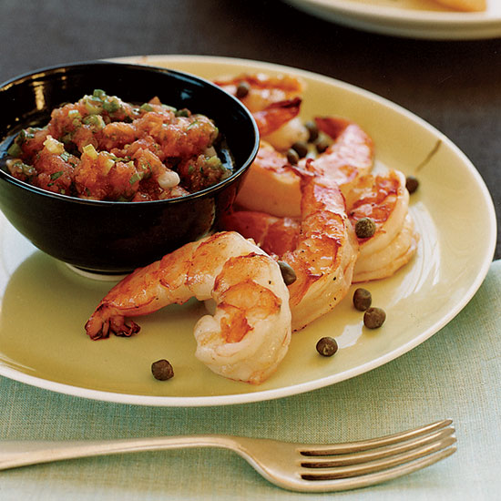Tunisian Prawns with Kerkennaise Sauce