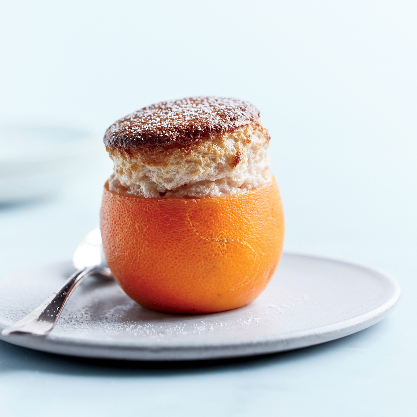 Blood Orange Soufflés