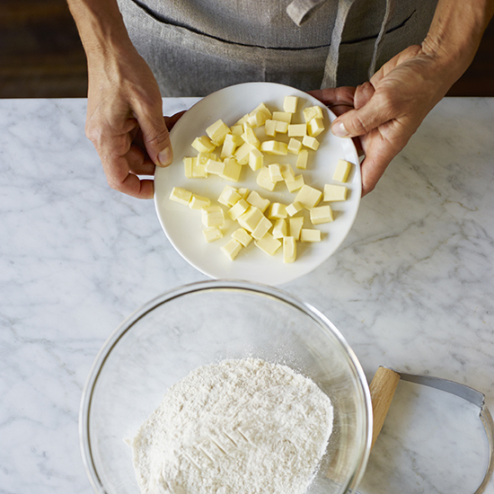 How to Make Pie Crust: Chill Ingredients