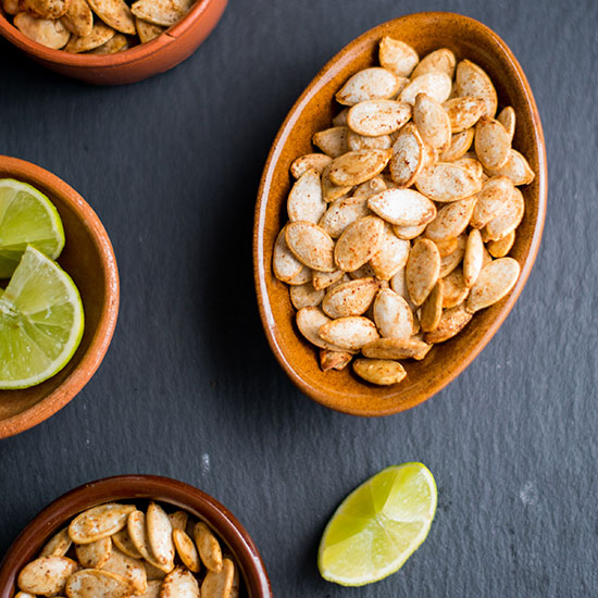 Chile-Lime-Roasted Pumpkin Seeds