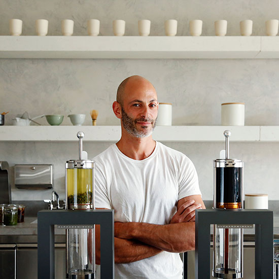 Jesse Jacobs of Samovar Tea Bar