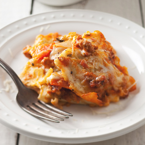 Vegetable-and-Ravioli Lasagna