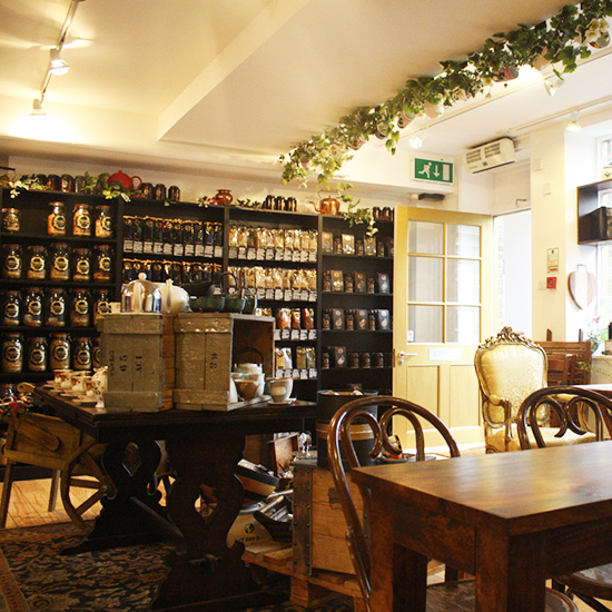 Tea Shops: Camellia's Tea House; London