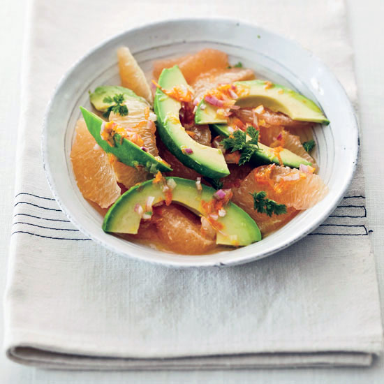 Pink-Grapefruit-and-Avocado Salad